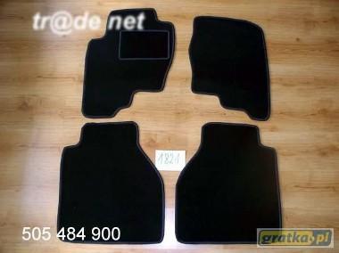 Nissan Navara od 2005r. 1,5 kabiny najwyższej jakości dywaniki samochodowe z grubego weluru z gumą od spodu, dedykowane Nissan Navara-1