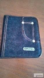 Piórnik NOWY- jeans