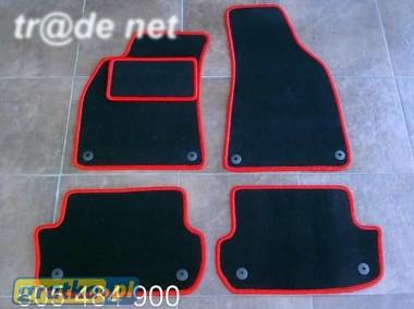AUDI A4 B7 cabrio 2004-2008 najwyższej jakości dywaniki samochodowe z grubego weluru z gumą od spodu, dedykowane Audi A4-1