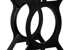 vidaXL Nogi do stolika kawowego, 2 szt., w kształcie litery O, żeliwo245427