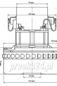 Turbina Silnik Nilfisk, Wap, Alto, Stihl, Makita, Festool-2