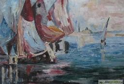 Przystań jachtów - wg.I.Israelsa