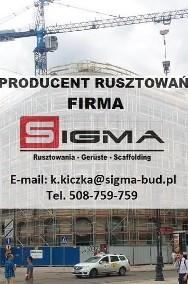 WYPRZEDAŻ - Tanie Rusztowania Elewacyjne Fasadowe Ramowe - KAŻDY TYP-2