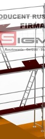 WYPRZEDAŻ - Tanie Rusztowania Elewacyjne Fasadowe Ramowe - KAŻDY TYP-3
