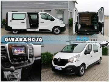 Renault Trafic /Vivaro L2H1 DŁUGI DOKA 5 miejsc Klima REGAŁY Hak