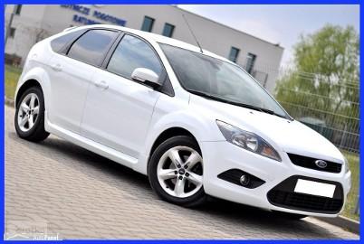 Ford Focus III Piękny Biały ST PAKIET__1.6D 109KM__Klima* Pół skóry* Parktronik*