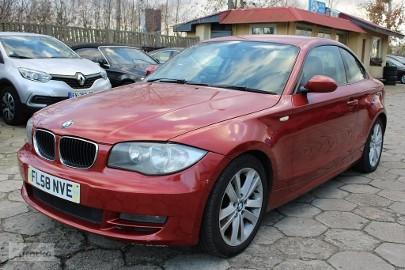 BMW SERIA 1 120 2,0 D 177 KM Anglik Klimatronic Parktronic