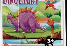 Puzzle 24 elementy. Dinozaury 3+