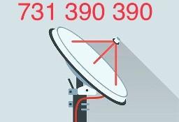 Gaj montaż serwis ustawianie anten satelitarnych NC+ Cyfrowy Polsat i naziemnych