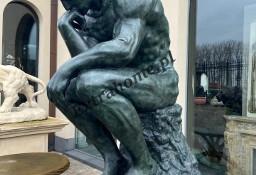 Myśliciel H185cm Rzeźba figura z brązu najbardziej znana na świecie