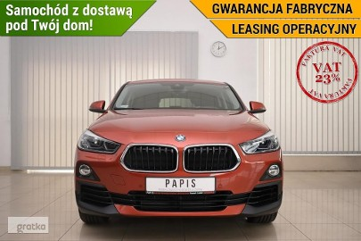 BMW X2 VAT23 SalonPL Gwarancja 1Wł Sdrive LED HarmanKardon PAPIS