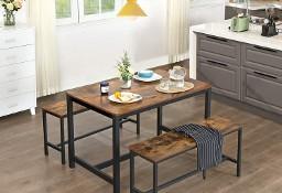 Stół w stylu industrialnym - do jadalni, salonu