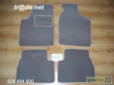 Kia Rio I 2000-2004 najwyższej jakości dywaniki samochodowe z grubego weluru z gumą od spodu, dedykowane Kia Rio-1