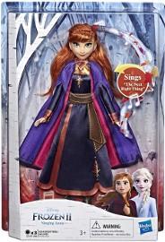 Śpiewająca Lalka Anna Frozen 2 Kraina Lodu Światło Dźwięk