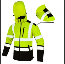 SOFTREF YELLOW KURTKA SOFTSHELL