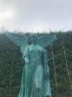 Rzeźba z brązu Anioł H130cm i inne