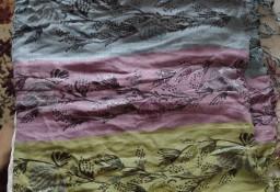 H&M/ Ekskluzywna, duża chusta ze srebrną nitką, ponczo, szal z Wiednia