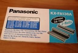 Sprzedam oryginalną folię do faksów Panasonic KX-FA136A – 2 rolki.