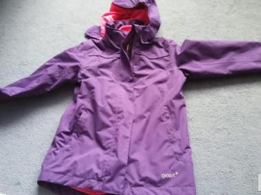 kurtka dziewczęca 122 128 cm jesienno zimowa-1