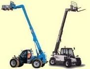 Uprawnienia ładowarki teleskopowe wózki ze zmiennym wysięgiem UDT