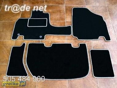 Honda Odyssey III 2003-2008 2 rzędy najwyższej jakości dywaniki samochodowe z grubego weluru z gumą od spodu, dedykowane Honda Odyssey-1