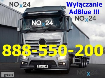 Actros MP4 Bluetec 5 Bluetec 6 Wyłączanie AdBlue, Usuwanie Adblue