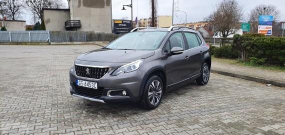 Peugeot 2008 LIFT / 1.2 T / Automat/ Nawigacja/ Skóra / Zadbany
