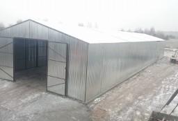 Garaże blaszane, wiaty, hale, konstrukcja stalowa