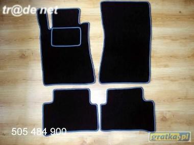 MERCEDES CLS W219 od 2004 najwyższej jakości dywaniki samochodowe z grubego weluru z gumą od spodu, dedykowane Mercedes-Benz Klasa C-1