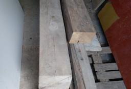 Stare belki bale drewniane ręcznie ciosane
