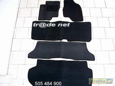 Toyota Previa 2000-2006 3 rzędy+bagażnik najwyższej jakości dywaniki samochodowe z grubego weluru z gumą od spodu, dedykowane Toyota Previa-1