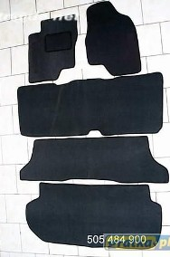 Toyota Previa 2000-2006 3 rzędy+bagażnik najwyższej jakości dywaniki samochodowe z grubego weluru z gumą od spodu, dedykowane Toyota Previa-2
