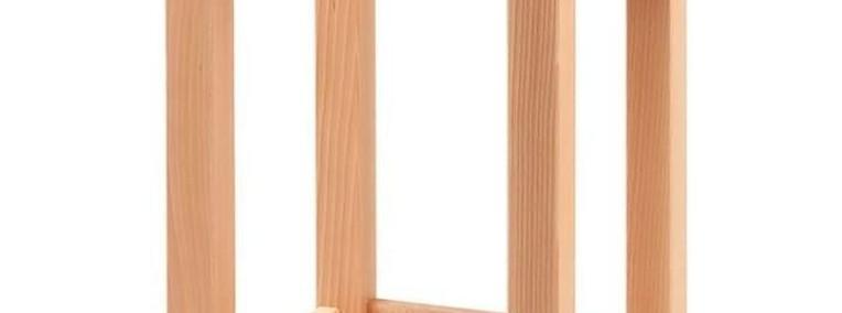 Kloc masarski z drewna bukowego na podstawie Hendi-1