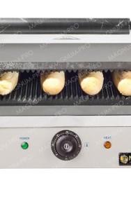 Duży zestaw do hot-dogów grill+ podgrzewacz + akcesoria teflon-2