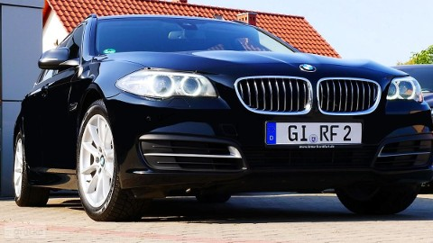 BMW SERIA 5 520dA 190 Webasto*DVD*Navi Pro*18''*Grzane Fotele