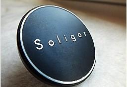 Oryginalny dekielek Soligor metalowy, nasadowy 71mm zaślepka