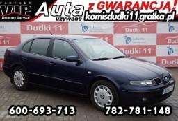 SEAT Toledo II 1,9tdi DUDKI 11 klimatr,radio CD,elektr,hak,opłacony,GWARANCJA