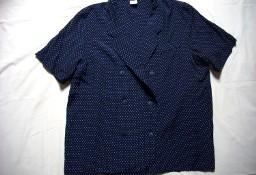 Letni Żakiecik Dwurzędowy Groszki Koszula 44