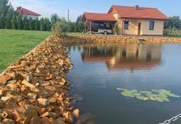Kamień na oczko wodne staw skarpy stawu