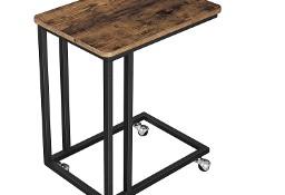 Mały stolik kawowy, pomocniczy, boczny, pod sofę łóżko, industrialny, loft