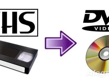 Przegrywanie kopiowanie kaset VHS VHS-C Video8 na DVD, edycja i montaż filmów-1
