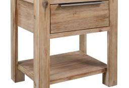 vidaXL Stolik nocny z szufladą, 40 x 30 x 48 cm, lite drewno akacjowe 245683