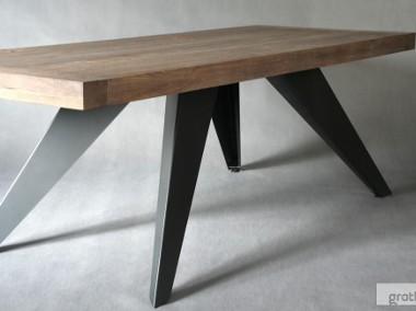 stół dębowy Salvatore Grande dąb szczotkowany olejowany 220 x 100 x 76-1
