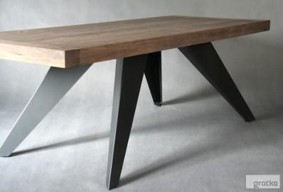 stół dębowy Salvatore Grande dąb szczotkowany olejowany 220 x 100 x 76