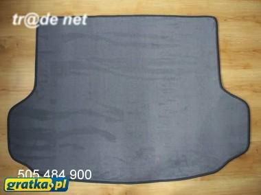 Hyundai ix35 od 2010 r. najwyższej jakości bagażnikowa mata samochodowa z grubego weluru z gumą od spodu, dedykowana Hyundai-1