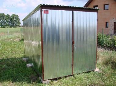 Garaż metalowy blaszak schowek pakamera Sieradz 1900zl-1