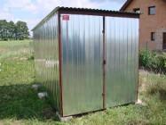 Garaż metalowy blaszak schowek pakamera Sieradz 3x5 - 1390zl