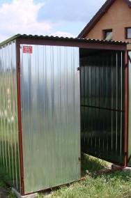 Garaż metalowy blaszak schowek pakamera Sieradz 1900zl-2