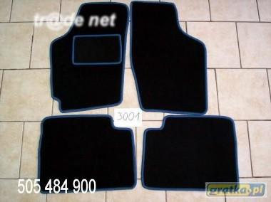 Daewoo Tico 1991-2001 najwyższej jakości dywaniki samochodowe z grubego weluru z gumą od spodu, dedykowane Daewoo Tico-1