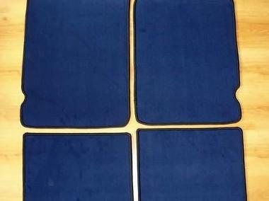 Microcar od 2008 najwyższej jakości dywaniki samochodowe z grubego weluru z gumą od spodu, dedykowane Micrus-1